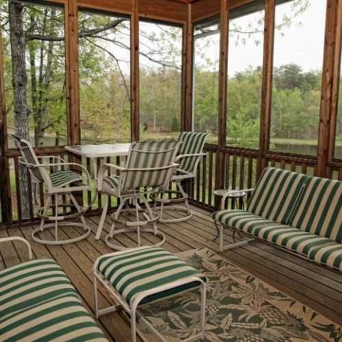 enclosed and screen porches