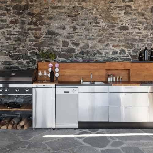 outdoor kitchen bbq builds