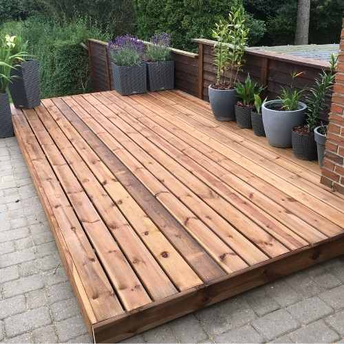 wood and composite decks